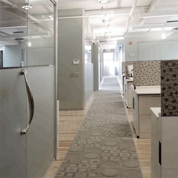 5,800 Sq Ft Full Floor Renovation, Interiors And Roof Design For  Entertainment Company, SoHo, New York City, NY. Office 3